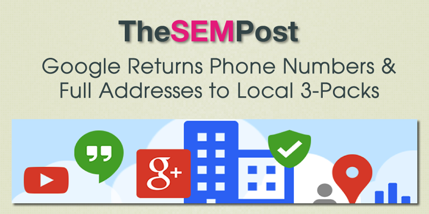 google both home service local pack 6