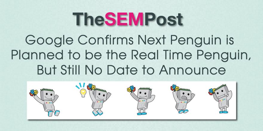 google penguin real time