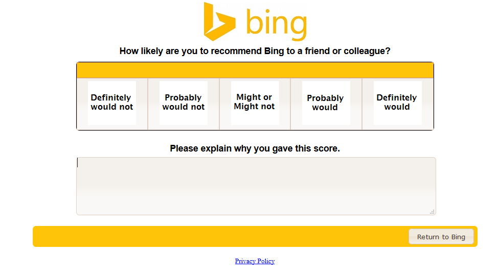 recommend bing question 3