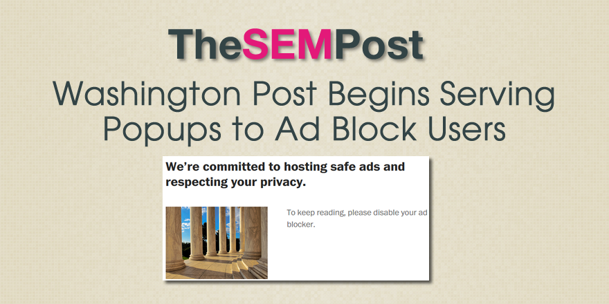 washington post ad block
