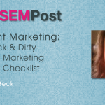 aimee beck content checklist
