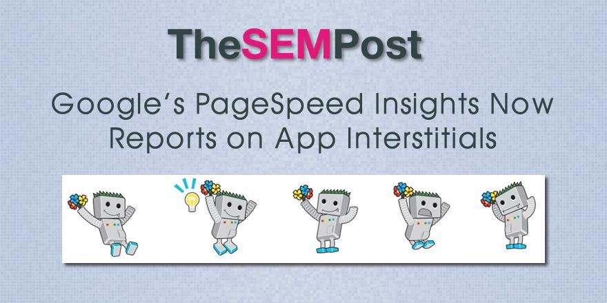 app interstitials pagespeed
