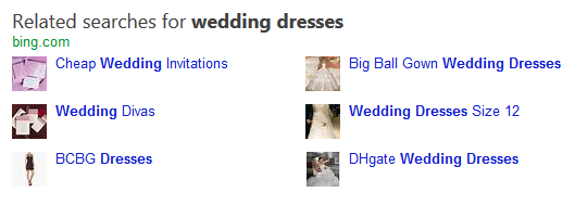 bing related searches new 4