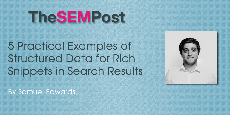 5 Practical Examples of Structured Data for Rich Snippets in Search Results