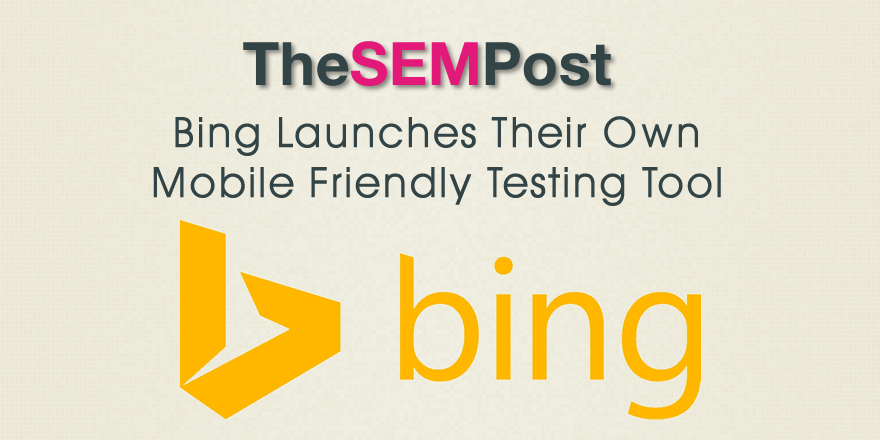 bing mobile friendly