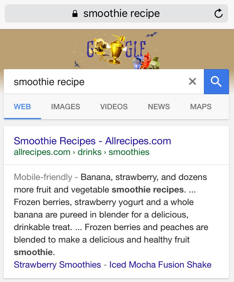 google 7 line snippet2