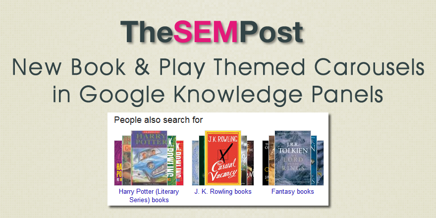 google book carousels