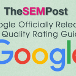 google search quality ratings release