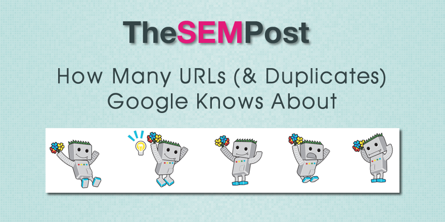 google urls duplicates