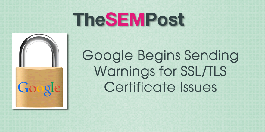 gsc ssl certificate issues