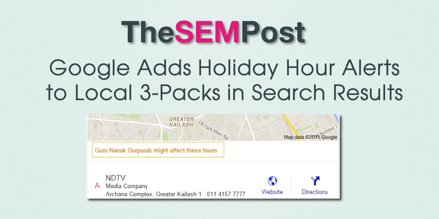 holiday hours 3 pack