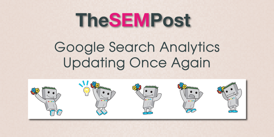 search analytics updating again