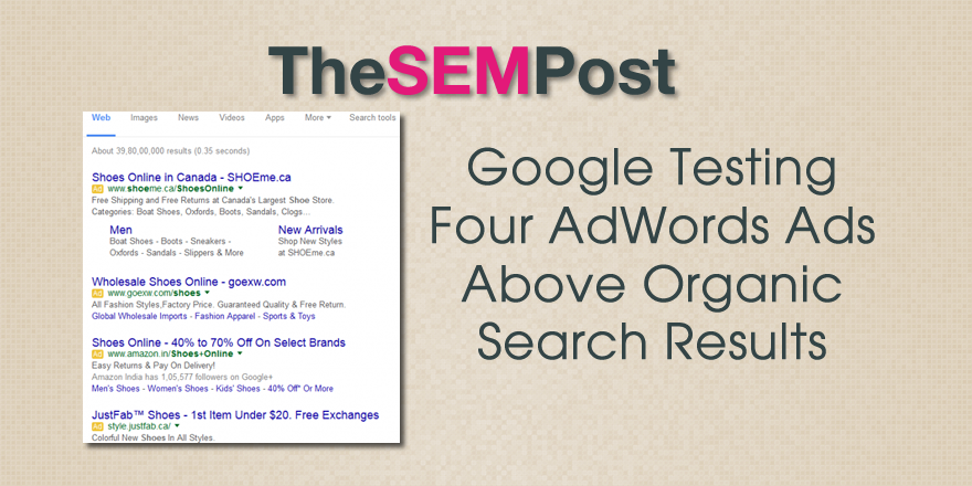 adwords four ads