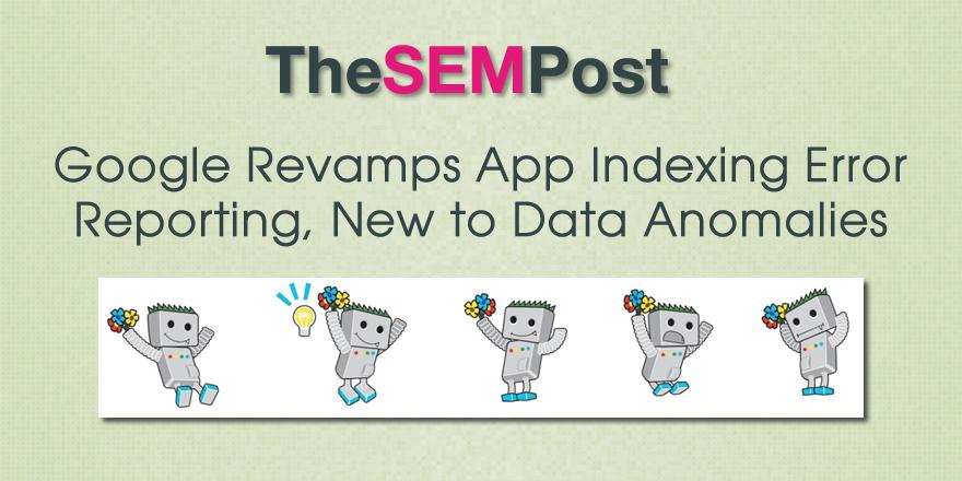 app indexing index errors