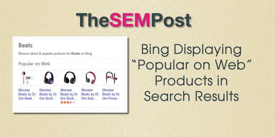 bing popular on web