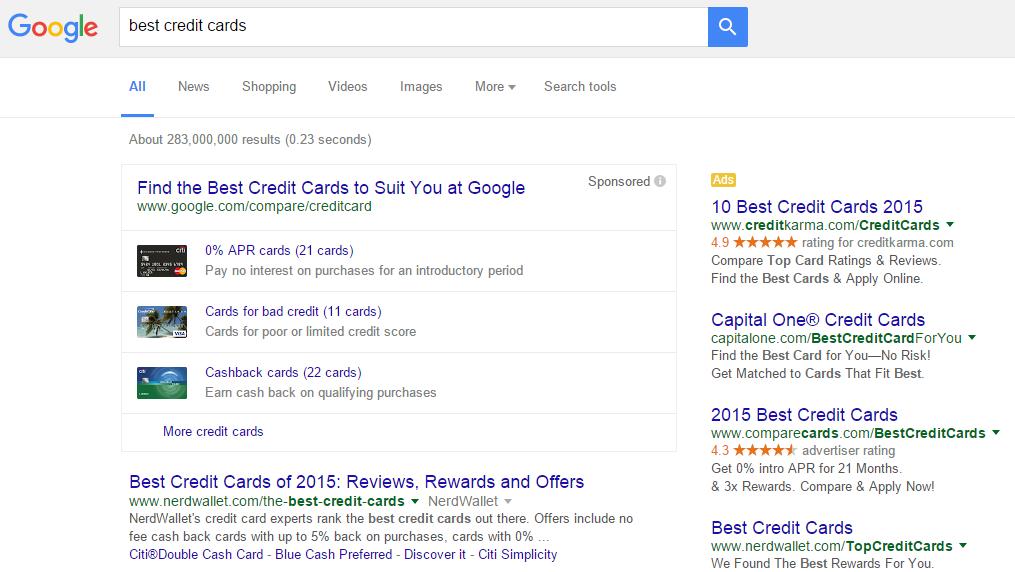 google credit cards 2