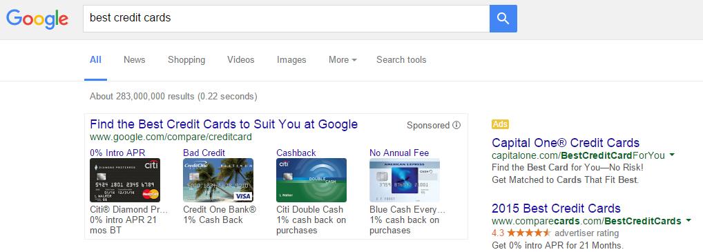 google credit cards 3