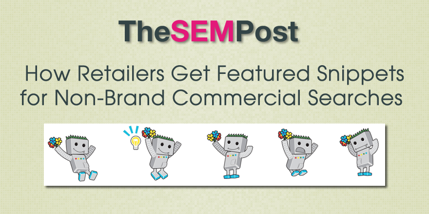 retailers featured snippets