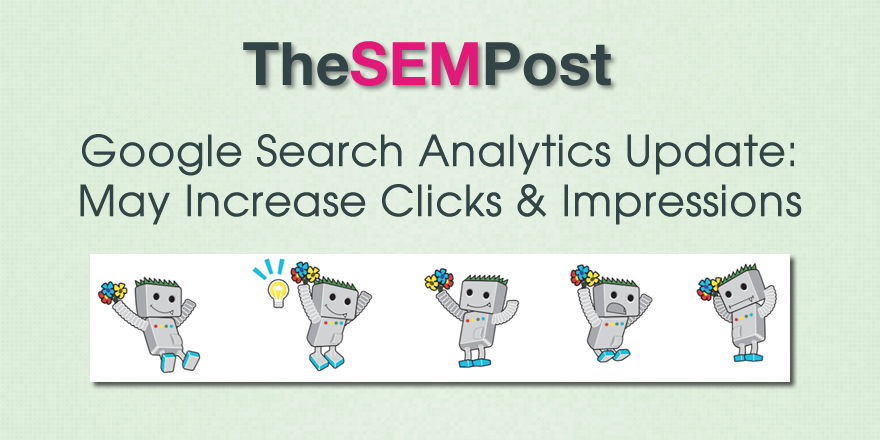 search analytics update