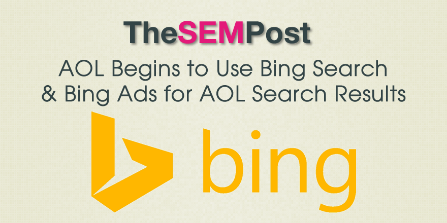 aol bing search results