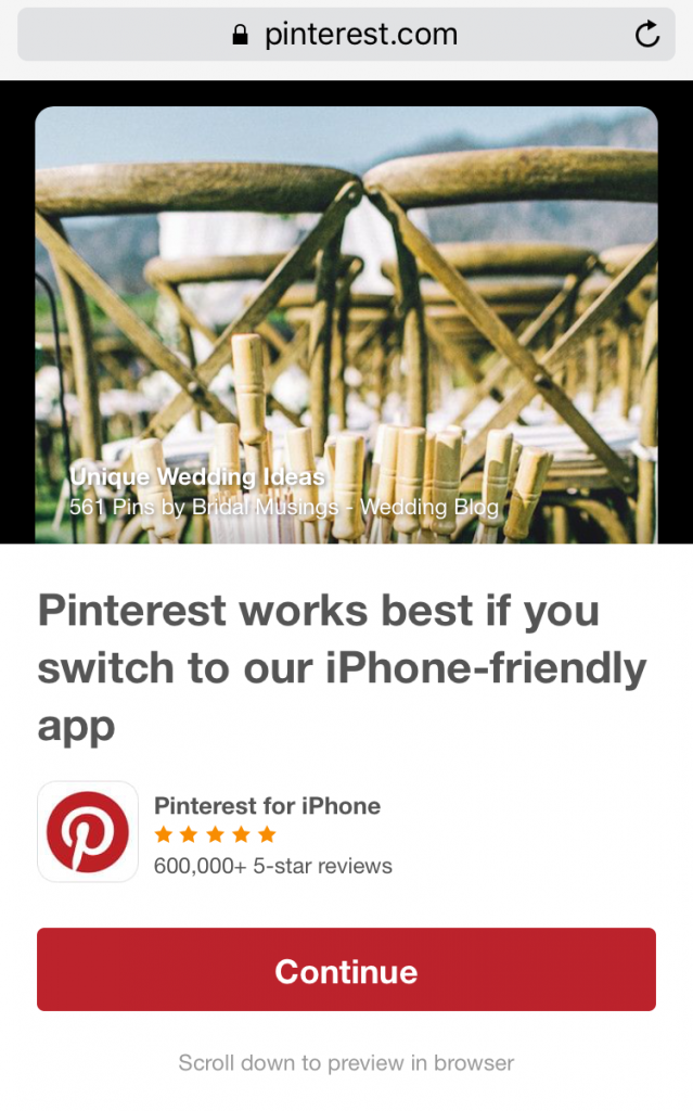 app interstitial pinterest 2
