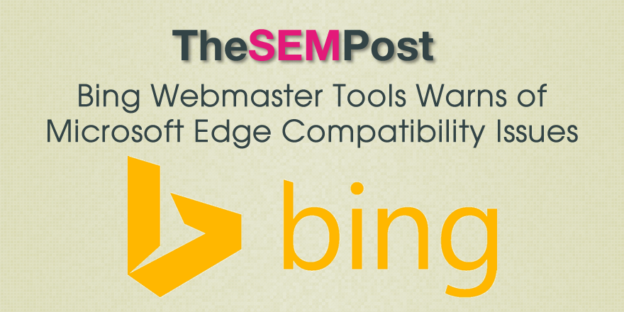 bing edge compatibility