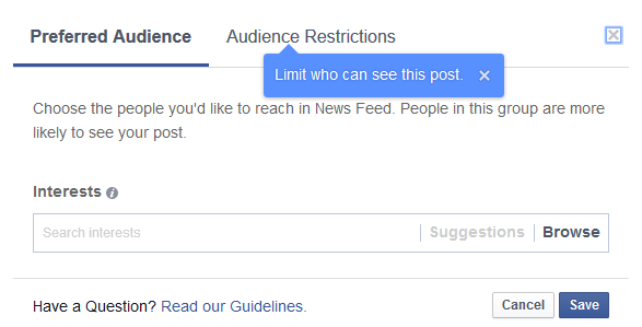 Facebook Launches Audience Optimization for Facebook Pages & Posts