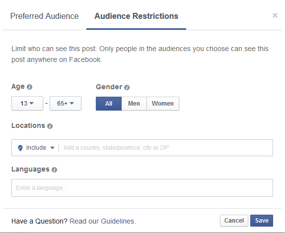 fb audience restrictions 3