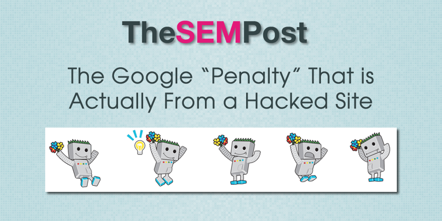 google penalty hacked