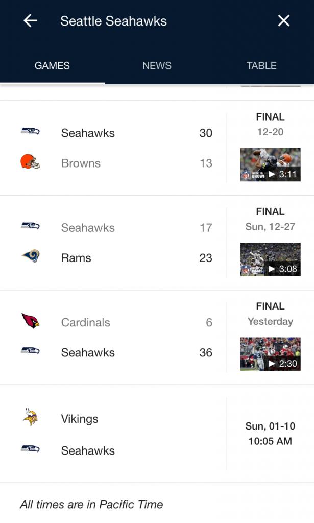 google sports ui 6