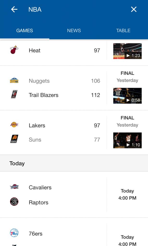 google sports ui 8