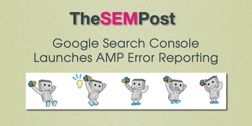 gsc amp error reporting