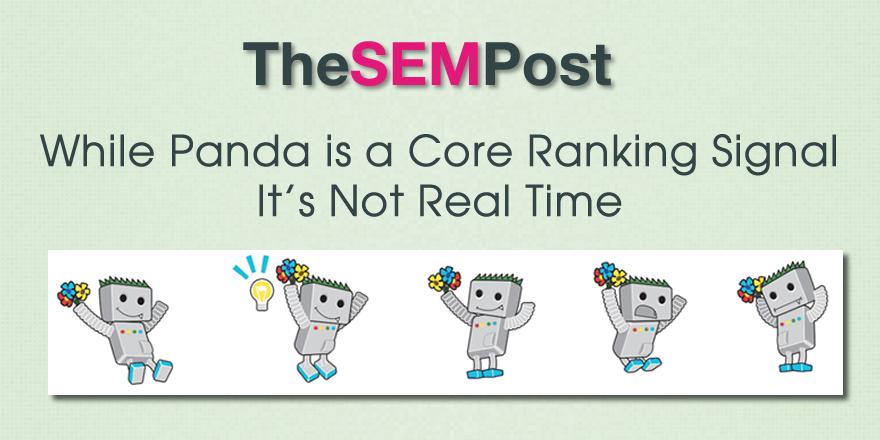 panda not real time