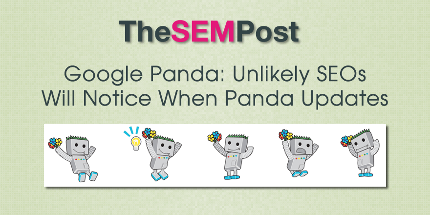 panda updates not notice