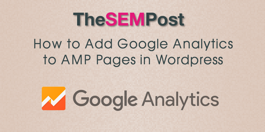 amp pages analytics