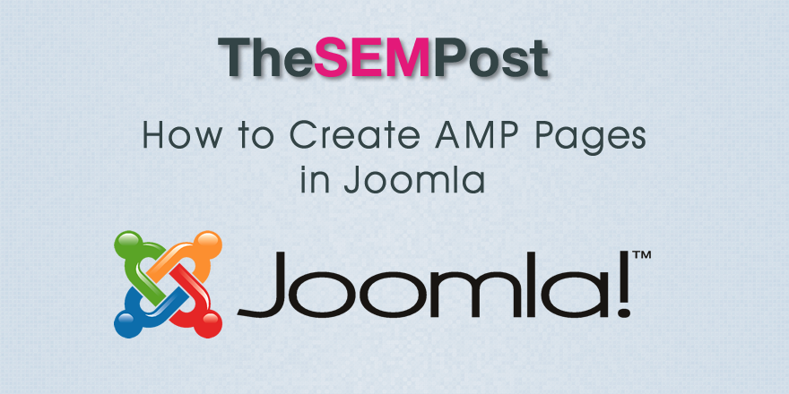 amp pages joomla