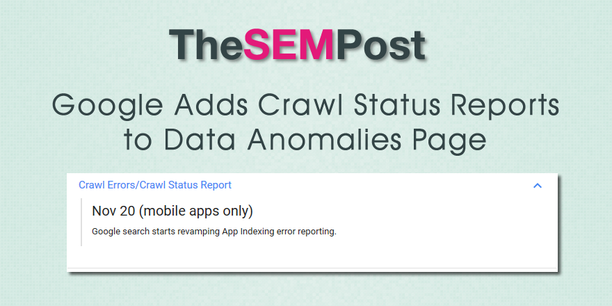 data anomalies crawl 2