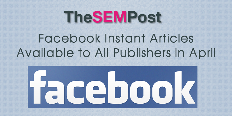 facebook instant articles publishers