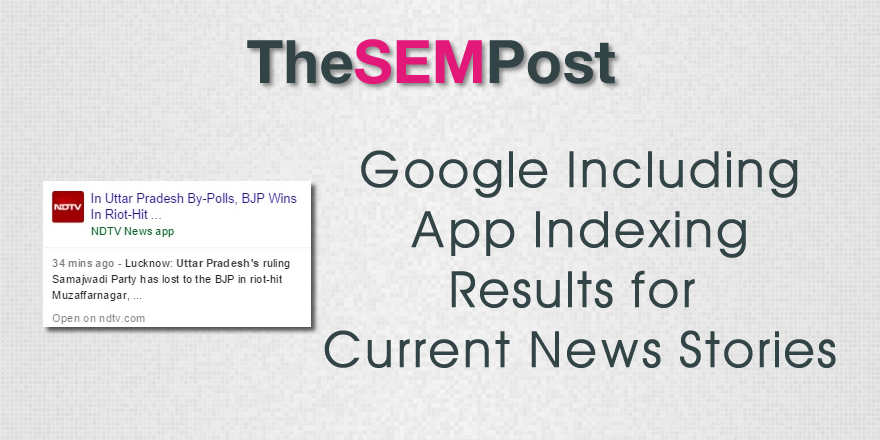 google app indexing