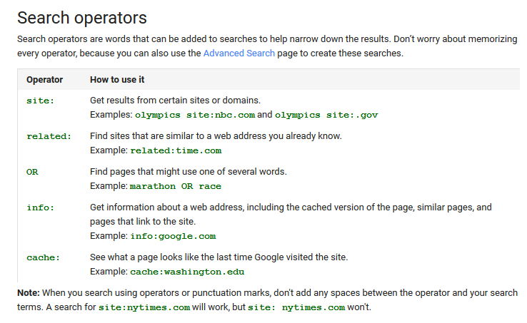 google link new