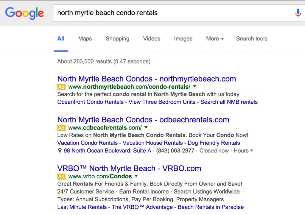 google sitelinks separator 2