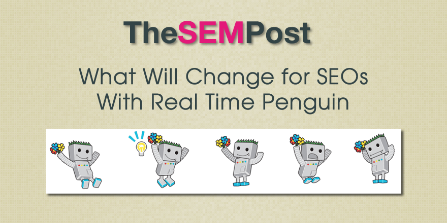 real time penguin change seo