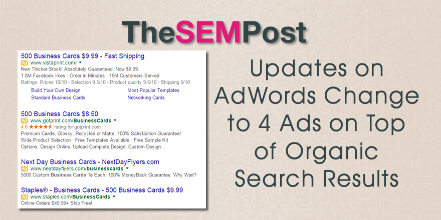 updates 4 adwords ads