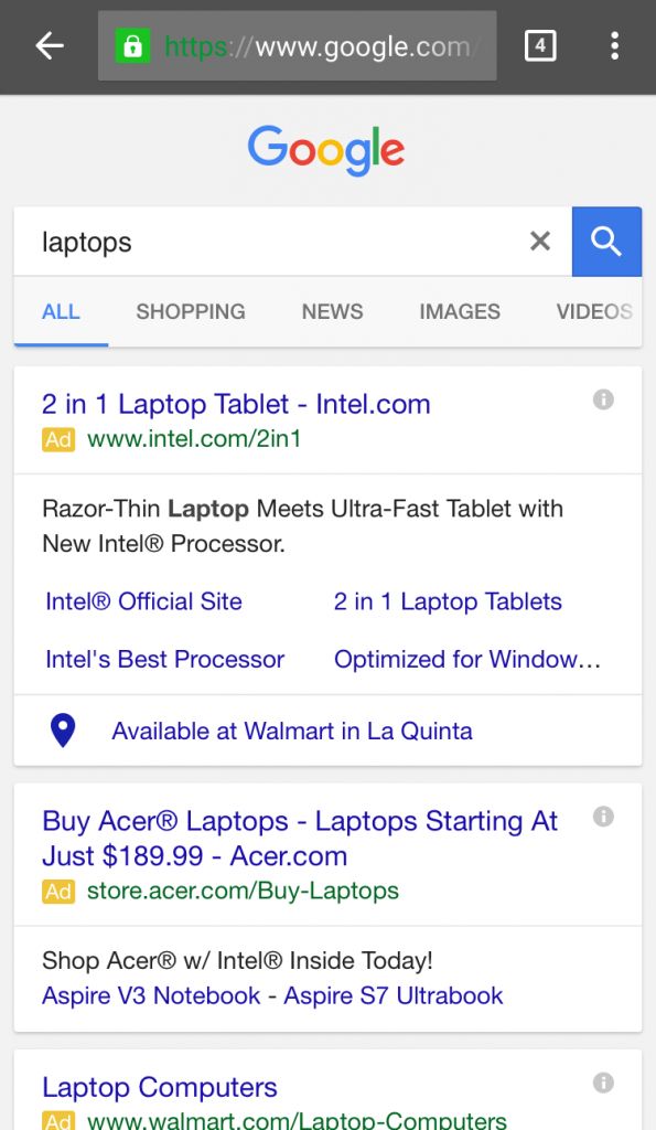 adwords local inventory ad 1