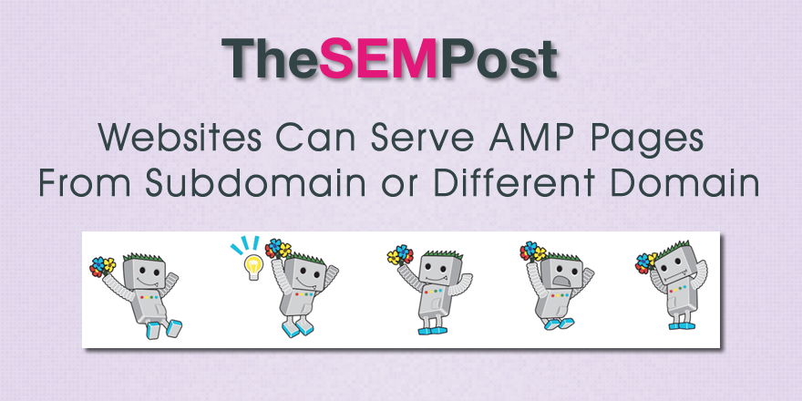 amp pages subdomain