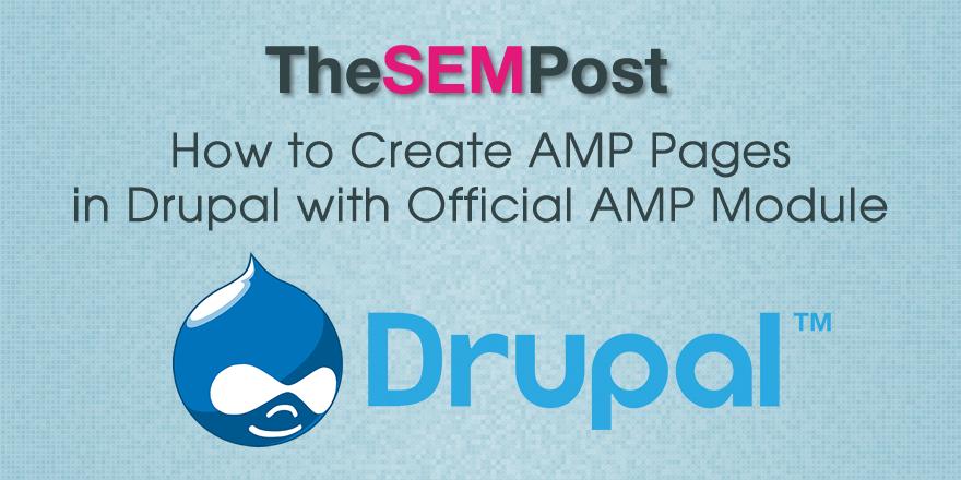 drupal amp