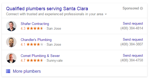 google home service ads no description