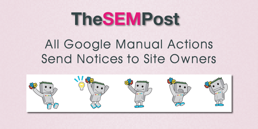 manual action notices