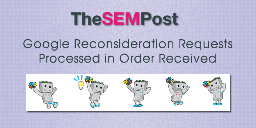 reconsideration request order