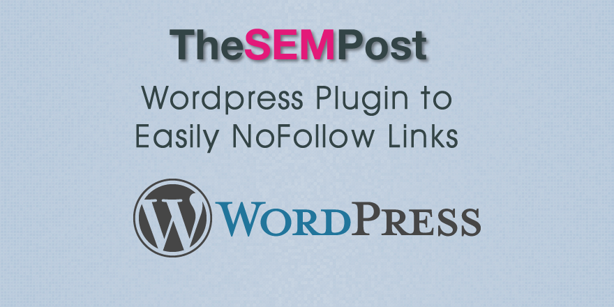 wordpress nofollow links